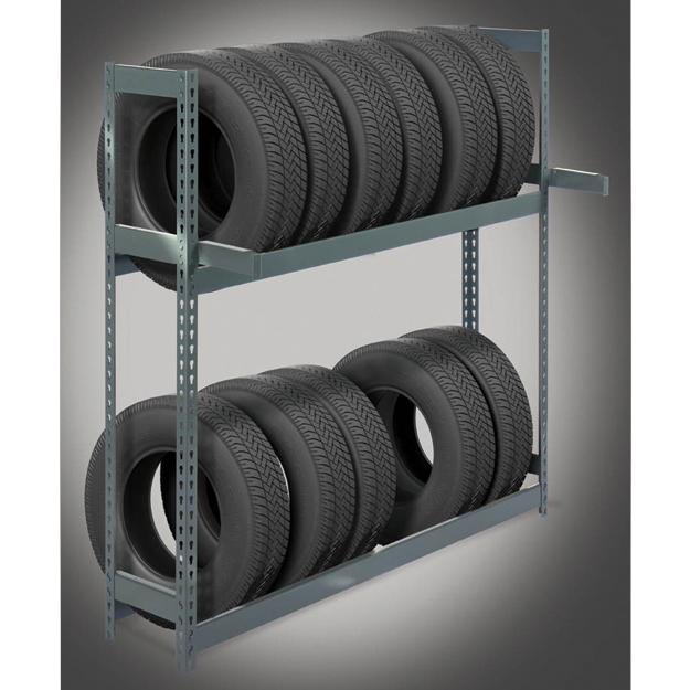 Tire Storage Racks Non Seismic